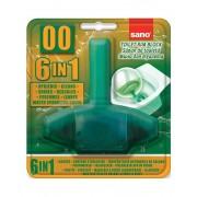 Odorizant WC, solid, 55gr, SANO Green Bon 00 6-in-1