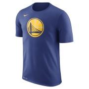Tee-shirt de NBA Golden State Warriors Nike Dry Logo pour Homme - Bleu