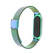 For Xiaomi Mi Band 3 Stainless Steel Magnetic Buckle Watch Wrist Strap - Multi-color