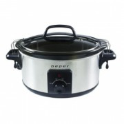 Slow cooker 5.5 litri 3 niveluri de gatit Beper BC.500
