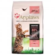 Applaws Adult com frango e salmão para gatos - Pack económico: 2 x 7,5 kg