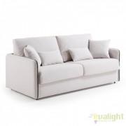Canapea moderna cu saltea spuma poliuretanica KOMODO 140 bej S388VA12 JG