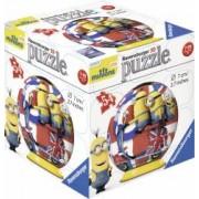 PUZZLE 3D MINIONS 54 PIESE Ravensburger