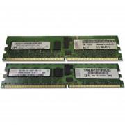 Memoria RAM IBM DDR2 2Gb (2 X 1Gb) 667Mgz Con ECC IBM 41Y2761
