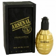 Arsenal Gold For Men By Gilles Cantuel Eau De Parfum Spray 3.4 Oz