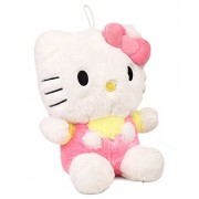 Hello Kitty Plush | Imported Premium Quality | Soft Toy for Kids of Age 1 Year and Above | Pink and Yellow Colour | Size 30 cm