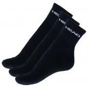 Head 3PACK ponožky HEAD černé (771026001 200) L