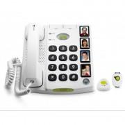 Doro Téléphone Filaire Doro Secure 347, 4 touches mémo photos