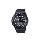 Relógio Masculino Casio Anadigi AEQ-100W-1AVDF - Preto