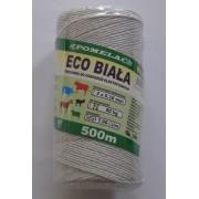 Plecionka Eco Biała 500m