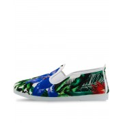 FLOSSY Slip On Palms Green