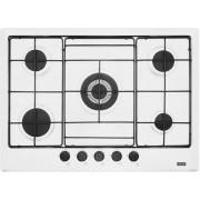 Plita incorporabila Franke Multi Cooking MR FHMR 705 4G TC WH E , 5 arzatoare gaz, 70 cm, Alb