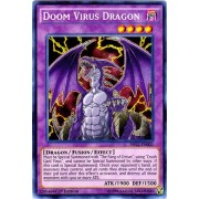 Yu-Gi-Oh - Doom Virus Dragon DRL2-EN003 - Dragons of Legend 2 - 1st Edition - Secret Rare