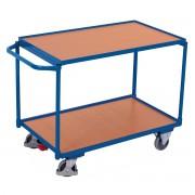 VARIOfit Tischwagen mit Schiebegriff und 2 Ladeflächen 985x595mm