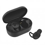 JEDX-A13 TWS Bluetooth 5.0 Earphones Wireless Binaural Sports Headset Stereo Surround with Charging Box - Black