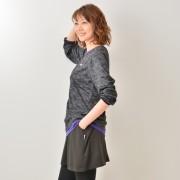 FILA UVカット 3WAYで楽しめる上下セパレートチュニック【QVC】40代・50代レディースファッション