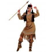 Vegaoo Dansande gräshoppan - Indiandräkt för vunxa Medium (40)