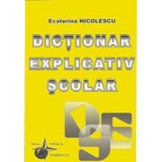 Dictionar explicativ scolar/Ecaterina Nicolescu