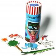 Joc magnetic educativ Momki - Lumea Junglei