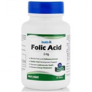 Healthvit Folic Acid 2 Mg 60 Tablets