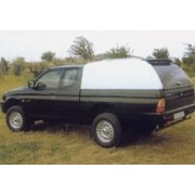 HARD TOP CARRYBOY TOIT HAUT MITSUBISHI L200 CLUB-CAB 97/05 SS VITRES - acce...
