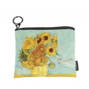 FRI.19272 Mini pénztárca 12x1,5x10cm, Van Gogh: Napraforgók