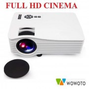 WOWOTO Unic uc36 Mini LED Portable Projector Full HD Support Home Theater USB/AV/HDMI