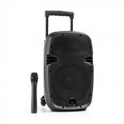 Bushfunk 25 Altoparlante PA Attivo 500W Bluetooth Batteria USB SD MP3 VHF