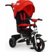 Tricicleta Copii Moni Continent Rosu