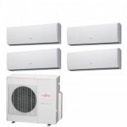 Fujitsu Condizionatore Quadri Split Serie LU 9+9+9+12 Btu ASYG09LUCA +ASYG09LUCA +ASYG09LUCA +ASYG12LUCA AOYG30LAT4 R-410A