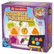Joc educativ sa invatam culorile si formele multicolor