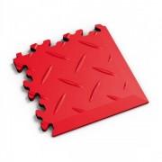 Fortemix Roh k dlažbě Fortelock Industry vzor diamant červená