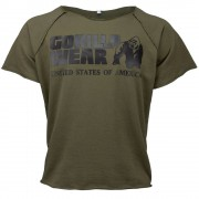 Gorilla Wear Classic Work Out Top - Army Green - S/M