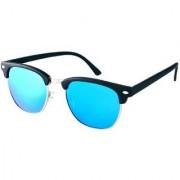 Adrian Clubmaster Sunglasses(Blue)