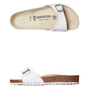 Birkenstock Womens Regular Madrid Sandal White
