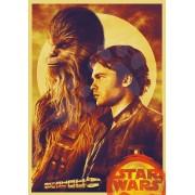 Puzzle Han solo, A history of Star Wars Educa 500 piese + lipici FIX puzzle EDU17681