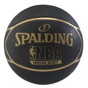 Bola Spalding NBA Black Highlight (Compre e Ganhe 1 Boné Spalding) - Tamanho 7