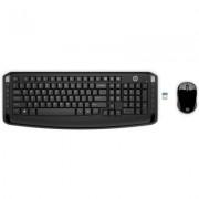 HP Kit Mouse e Tastiera Wireless 300