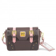 Y Not? Borsa Donna a Tracolla Piccola Y Not DR-09 Dream Brown