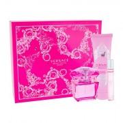 Versace Bright Crystal Absolu confezione regalo eau de parfum 90 ml + doccia gel 150 ml + eau de parfum 10 ml da donna