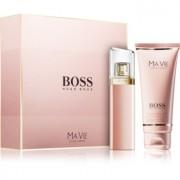 Hugo Boss Boss Ma Vie lote de regalo II. eau de parfum 50 ml + bálsamo corporal  100 ml