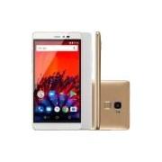 Smartphone MS60F, Dual Chip, Android 7.0, Memória Interna de 16gb, Tela de 5.5, Dourado P9056 - Multilaser