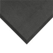 Černá protiúnavová olejivzdorná rohož Posture Mat - délka 102 cm, šířka 91 cm a výška 1,9 cm