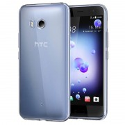 HTC U11 Ultra-Thin Silicone Case - Transparent