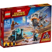 Set de constructie LEGO Marvel Super Heroes In Cautarea armei lui Thor