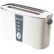 Black & Decker ET124 1350 W Pop Up Toaster(White)