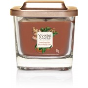 Yankee Candle Square Vessel Sweet Orange Spice Small