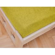 Gyerek frottír lepedő 70x140 cm sárga Méretek: 60 x 120 cm