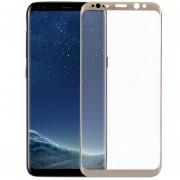 Louiwill Protector De Pantalla Galaxy S8 Plus, Pantalla Completa Protector De Pantalla De Cristal Templado Para Samsung Galaxy S8 Plus Con Burbuja Anti-huella Digital Gratuita Y Antirrayas, Oro