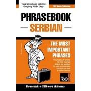 English-Serbian Phrasebook and 250-Word Mini Dictionary, Paperback/Andrey Taranov